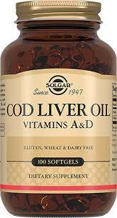 "Solgar, Cod Liver Oil ""<b>Жир</b> из <b>печени норвежской</b> трески"", 100 ..."