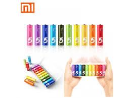 Купить <b>батарейки Xiaomi</b> Zi5-<b>AA</b> Rainbow во Владимире по ...