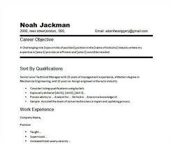 job objective in resume  c c cojob