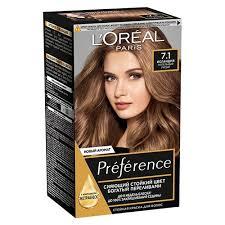 <b>Краска для</b> волос `<b>LOREAL</b>` `PREFERENCE` тон 7.1 (Исландия ...