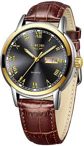 Watches <b>Men Fashion</b> Dress <b>30m Waterproof</b> Analog Quartz Wrist ...