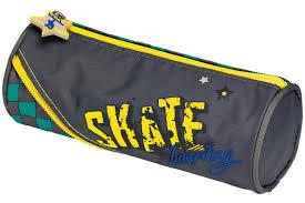"<b>Пенал</b> ""<b>Skateboarding</b>"", круглый | Купить с доставкой | My-shop.ru"