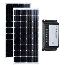 Solar Set Panneau <b>Solaire 300 watt</b> Zonnepaneel 12 volt 150 <b>watt</b> 2 ...