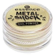 Essence <b>Эффектная пудра для</b> ногтей METAL SHOCK NAIL ...
