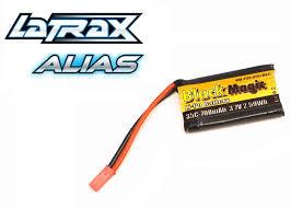 <b>Аккумулятор Black Magic LaTrax</b> Alias LiPo Battery 3.7V 700mAh ...