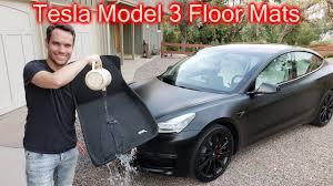 Tesla Model 3 All Weather Floor Mats Review - YouTube