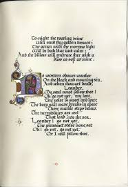 rubricated and illuminated colophon this manuscript selected colophon this manuscript selected poems of alfred lord tennyson