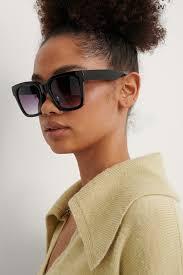 <b>Big</b> Rounded Edge <b>Sunglasses</b> Black | na-kd.com