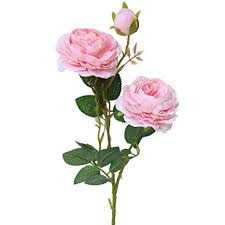 Buy Lailailaily <b>Artificial Fake Western Rose</b> Flower Peony Bridal ...