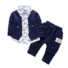 Amazon.com: terbklf <b>Kid Baby Boys</b> Fall Winter <b>Gentry</b> Clothing Set ...