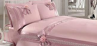 Ak Home Peome LacyTurkish Quilt Cover Set <b>6</b> Piece (Powder ...