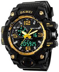 Gosasa Big Dial Digital Watch S Shock <b>Men Military Army Watch</b> ...