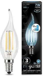 Светодиодная <b>лампа Gauss 104801207-S</b> - купить лампочку ...