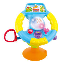 <b>Развивающая игрушка</b> Интерактивный руль с логикой (музыка ...