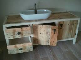 bathroom furniture realized with recycled pallets bathroom furniture pallets