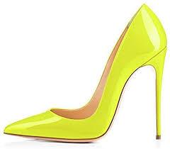 GENSHUO High Heel, 10cm/3.94 Inch Stiletto High ... - Amazon.com