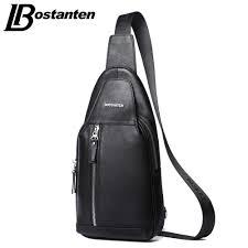 Bostanten <b>Men</b> Messenger <b>Bag</b> Casual Travel Rucksack <b>Male Chest</b> ...