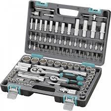 <b>Набор инструментов</b>, <b>1/2</b>, 1/4, CrV, пластиковый кейс, 94 ...