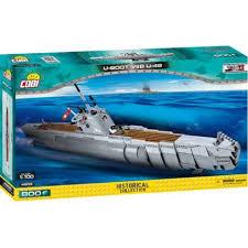 <b>Конструктор</b> классический <b>Cobi</b> Подводная лодка <b>U</b>-<b>48</b> (<b>Cobi</b>-4805)
