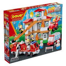 "игрушка 743 <b>Конструктор Бауер</b> ""<b>Fireman</b>"" набор Тушение пожара"