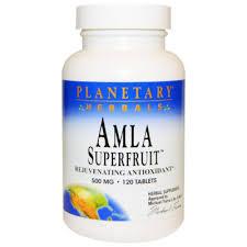 Planetary Herbals <b>Суперфрукт амла</b>, <b>омолаживающий</b> ...