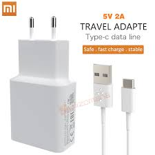 <b>Original Xiaomi</b> 5V 2A EU Charger Micro / <b>Type</b>-<b>C usb</b> cable ...