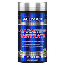 <b>Карнитин тартрат</b> 500 мг <b>120</b> капс. ALLMAX Nutrition