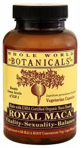Whole World Botanicals Royal Maca, 600 mg - 120 ... - City Market