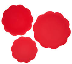 Set of 3 <b>8-in-1</b> Silicone Scalloped Safe Grabs by Lori Greiner - Page ...