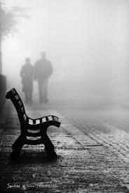 Resultado de imagen de siluetas enla niebla