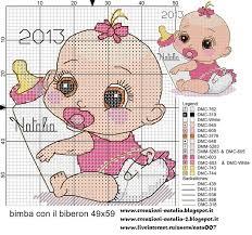 <b>baby girl</b> | Модели стежков, Вышивка крестом, Вышивание крестом