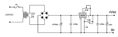 regulated power supply circuit diagram with explanation    moresave image   v regulated power supply circuit diagram circuitstune