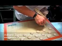 Adriano Zumbo piping macaron <b>shells</b> - YouTube