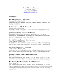 sample resume bartender sample resume bartender 5918