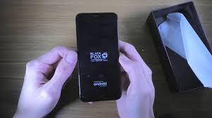 <b>Black Fox</b> B4 mini NFC - распаковка и текстовый обзор <b>смартфона</b>