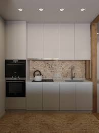 white kitchen windowed partition wall:   kettle feature kitchen black and white monochromatic