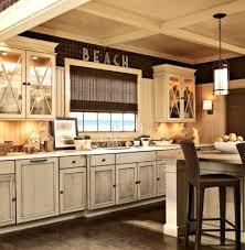 ideas distressed kitchen