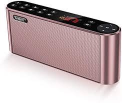 Antimi Bluetooth Speakers with FM Radio MP3 Player ... - Amazon.com