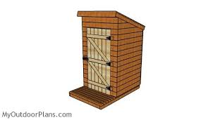 Outhouse Plans   MyOutdoorPlans   Free Woodworking Plans and    Outhouse Plans