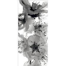 Fotomural Black And <b>White Flowers</b> Ft-0221   Fotomural