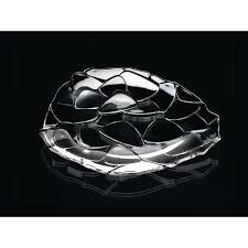 charger plates decorative: crystal decorative charger plate clear af   af efea