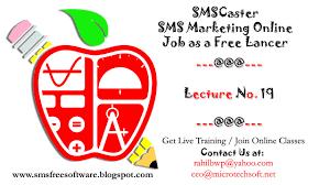 smscaster sms marketing online job as a lancer  smscaster sms marketing online job as a lancer 19 20