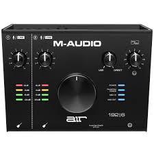 M-Audio AIR 192/6, купить <b>внешнюю студийную звуковую</b> карту M ...