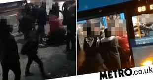 <b>Woman</b>, 40, savagely beats schoolgirl, <b>14</b>, in bus brawl | Metro News