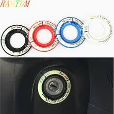 <b>Car Ignition Switch Keyhole</b> Luminous Decoration Ring Cover ...