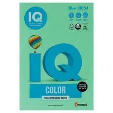 <b>Бумага цветная</b> А4 500 л, <b>IQ</b> COLOR, 80 г/м2, зеленый, MG28 ...