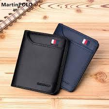 <b>MartinPOLO</b> 2019 <b>Mens</b> Wallet Slim Business Card Holder <b>Purse</b> ...