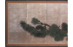 <b>C</b>.1940s Japanese <b>5</b>-<b>Panel</b> Byobu Screen - Mira Parker, Design and ...