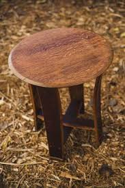 barrel top table with stave legs by alpine wine design alpine wine design outdoor