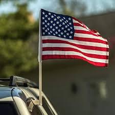 12x US American Patriotic Car Window Clip USA ... - Amazon.com